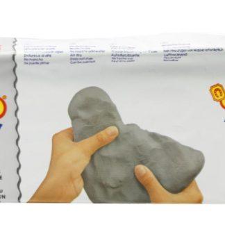 Jovi air dry grey clay (500 gm)