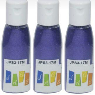 Glitter Powder 3 pcs Set Blue
