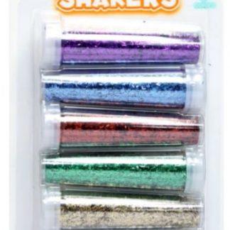 Glitter Art Shakers 6pcs