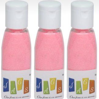 Glitter Powder 3pcs Set Baby Pink