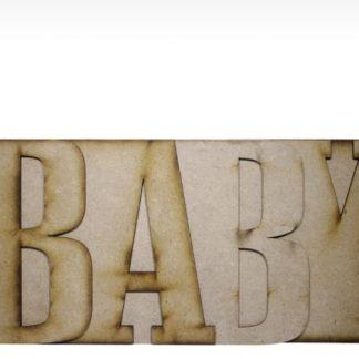 MDF Album Baby 6 inch