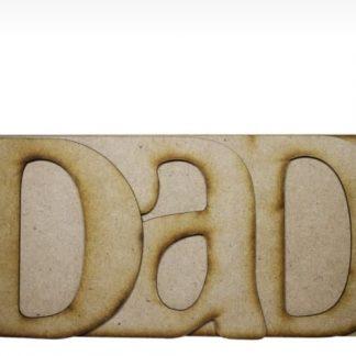 MDF Album DAD 6 inch
