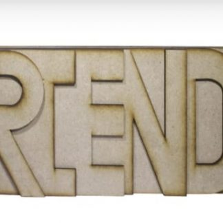 MDF Album FRIENDS 6 inch