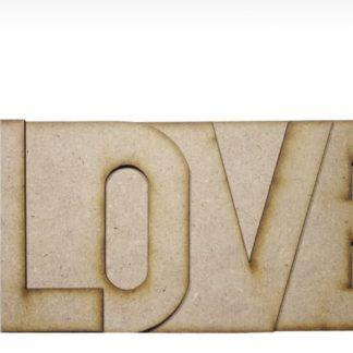 MDF Album Love 4 inch