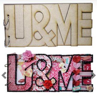 MDF Album U & Me 6 inch