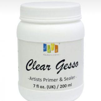 Artist Jags Clear Gesso 200ml 7fl oz