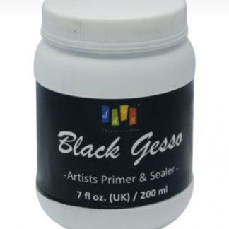 Artist Jags Black Gesso 200ml 7fl oz