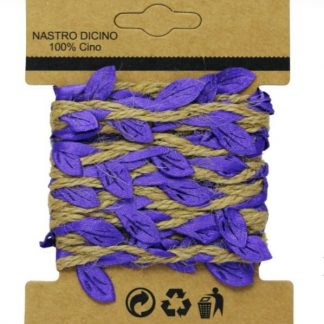Jute Ribbon Roll Lace Cloth Leaf Colour