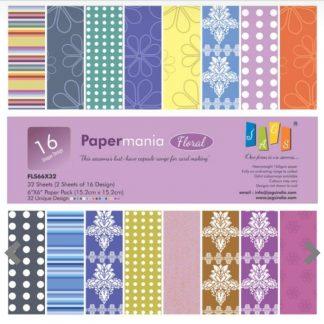 Paper Jags 6*6 Floral