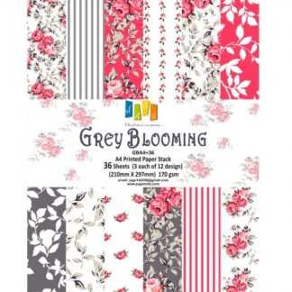 Paper Jags A4 Grey Blooming