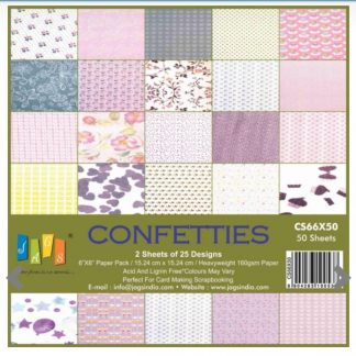 Paper Jags 6*6 Confetties
