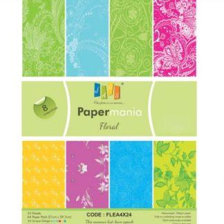 Paper Jags A4 Floral - 8D