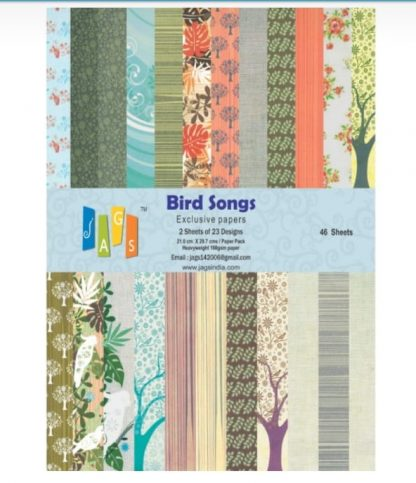 Paper Jags A4 Bird Songs