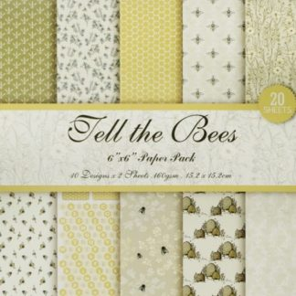 Paper Pack 6*6 Fell The Bees 160 Gsm