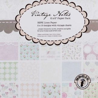 Paper Mania Vintage Notes 6*6