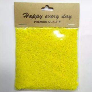 Artificial Tree Powder School Grass - Yellow - 10 Grams Pack