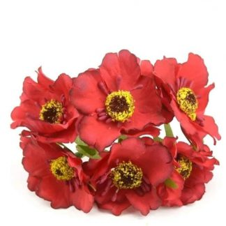 Silk Flowers - 3 - 75 Rs For 12 pcs