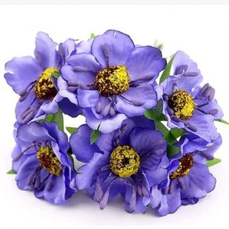 Silk Flowers - 5 - 75 Rs For 12 pcs