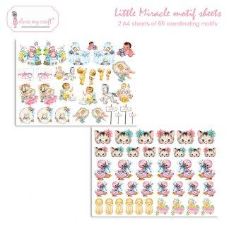 little miracle motif sheet