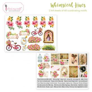 whimsical hues motif sheet