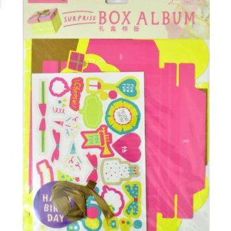 Birthday Theme Explosion Box Kit