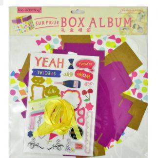Birthday Theme Hexagon Explosion Box Kit