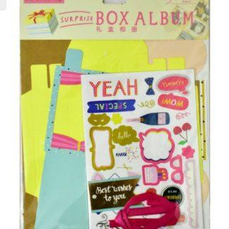 Party Theme Explosion Box Kit
