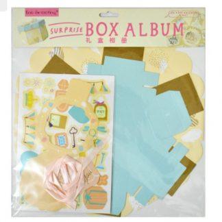 Wedding Theme Hexagon Explosion Box Kit