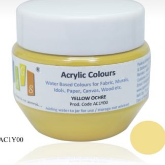 Acrylic Colour 75 gms Yellow Ochre