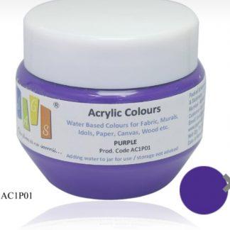 Acrylic Colour 75 gms Purple
