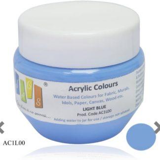 Acrylic Colour 75 gms Light Blue