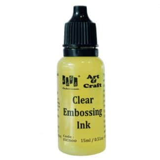 Clear embossing inK