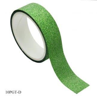 Craft Glitter Tape Small 10x5 50pcs Box 10PGT-D