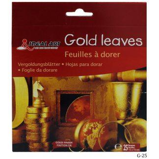Gold Leaves Feuilles a Dorer Gold G-25