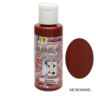 Marbling Colours Brown MCRO60ML