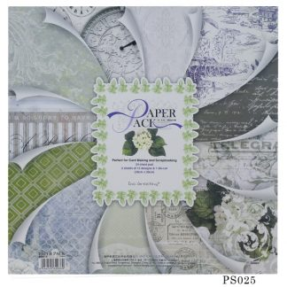 Paper Pack 12*12 Paper Pack PS025