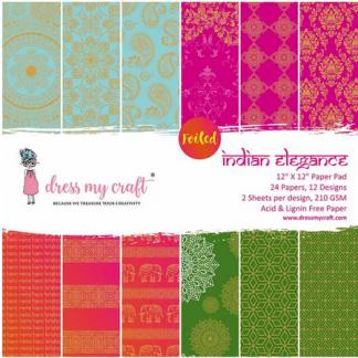 Indian Elegance - 12x12 Paper Pad