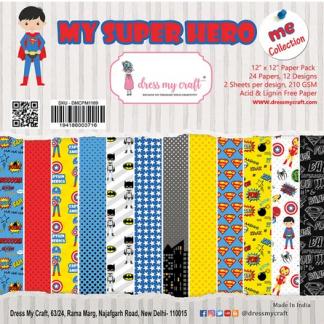 My Super Hero - 12x12 Paper Pad