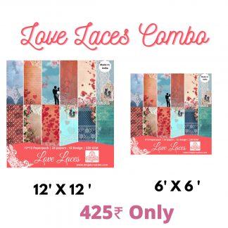 Love laces paperpacks scrapbooking