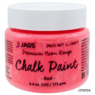 Chalk Paint Neon Premium Red 125ML CPNP04