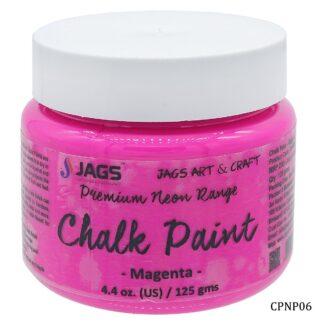 Chalk Paint Neon Premium Magenta 125ML CPNP06