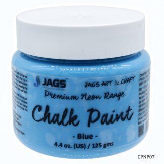 Chalk Paint Neon Premium Blue 125ML CPNP07