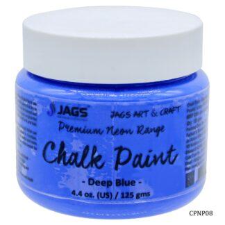 Chalk Paint Neon Premium Deep Blue 125ML CPNP08