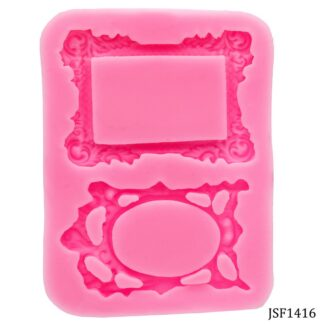 Silicone Mould 2 Design Frame JSF1416