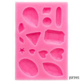 Silicone Mould 14 Design Crystal Diamond JSF395